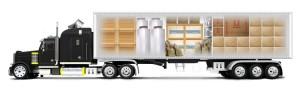 Прямые перевозки грузов отдельным выделенным транспортом.